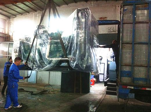 1台500kw康明斯柴油发电机成功出厂发往广州