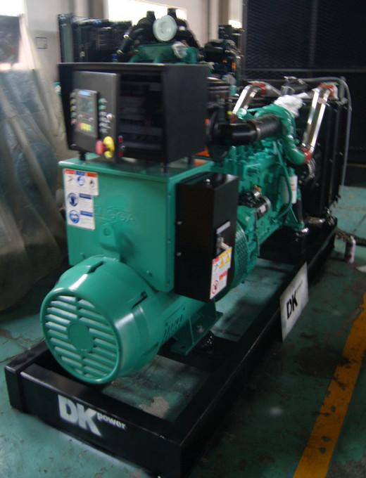 1台120kw康明斯柴油发电机组成功出厂发往深圳科技